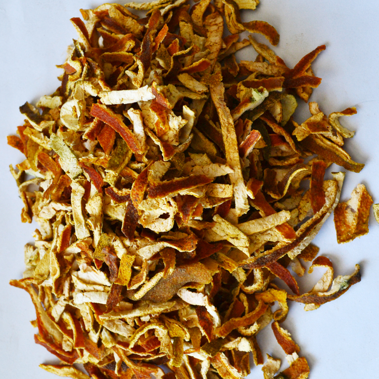Hot sell new arrival custom made good quality dried natural orange peel