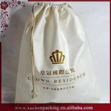 Shenzhen Xuchen Contemporary Classical Cheap Drawstring Cotton Canvas Packing Bag