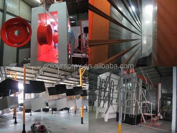 Oil Diesel Fired Powder Coating Oven