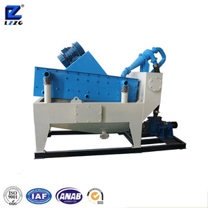 LZ sand recycling machine with cyclone filter