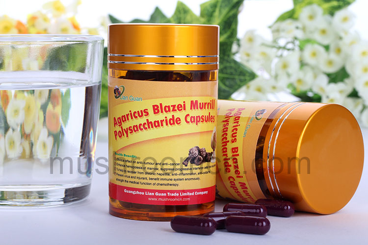 Anti-cancer Herbal Supplement Agaricus Blazei Capsule