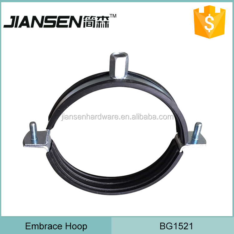 Galvanized Pressed Steel gi pipe clamp