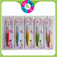 BPA free baby feeding products flexible safety silicone infant spoon for kids
