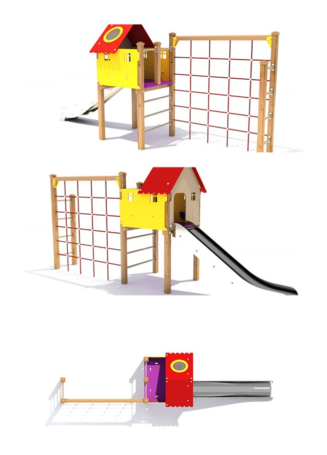2014children's playsets, PE playground with wooden material, kids outdoor furniture playground,outdoor game