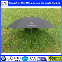 High quality promotional umbrella OEM design accepted famous branded promotional golf umbrella from China supplier