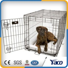 square iron wire indoor dog kennels cages