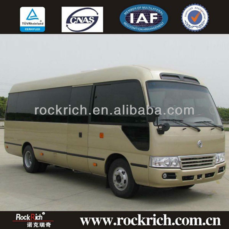 2013 popular brand new dongfeng coaster mini bus,mini buses coaster for sale