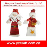 Christmas bottle cover (ZY13L315-1-2 30CM) xmas wine party decoration wine gift item
