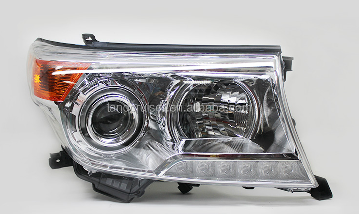 Head Lamp for toyota land cruiser lc200/fj200 2013 oe style