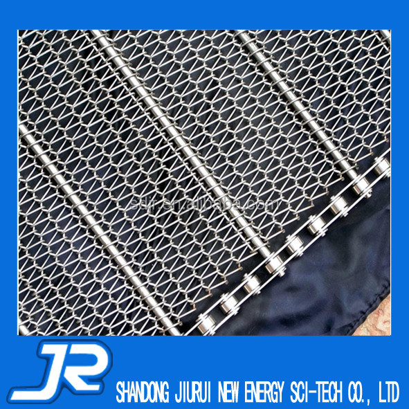 2015 China high quality stainless steel 304 food grade wire mesh conveyor belt