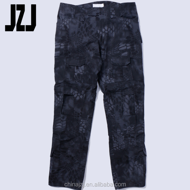 For Army Camouflage With Knee Pads Military Style Cargo Pants Men Military Cargo Army Pants