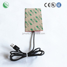 silicone rubber heater 12v car heater fan electric chair heater