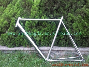 xacd made new design titanium road bike frame weight 1.6kg road racing bicycle frame