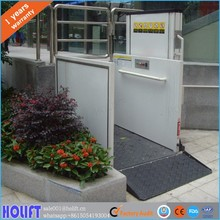 1m hot sale vertical wheelchair lift platform for disabled people
