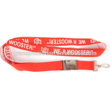 Free sample design hard plastic id card holder lanyard