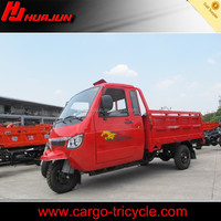 Heavy loading enclosed cargo tricycles