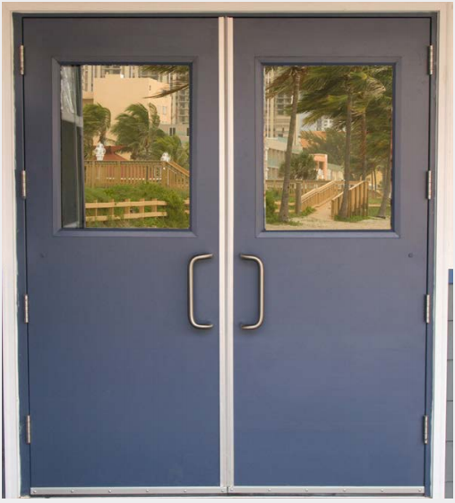 Metal door frames