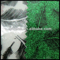 2013 Made in China insulated cooler bag fabric PVC Material glitter leather