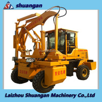 China Supplier Highway Guardrail Pile Driver