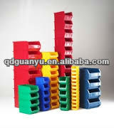 Plastic storage stack box