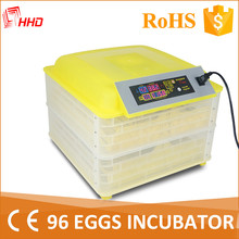 HHD 100 capacity broiler chicken hatching eggs machine commercial chick brooder YZ-96