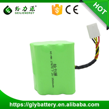 Geilienergy Ni-mh Rechargeable 17670 7.2V 3500mah Battery Packs