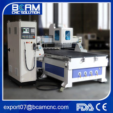 High speed and precision cnc router for carving and cutting wood with auto tools charge BCM1325C