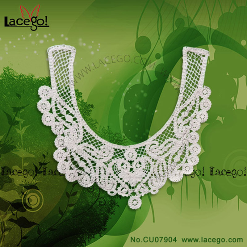 <strong>Brand</strong> new cotton collar lace whole lace with high quality