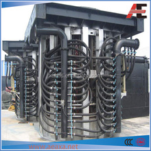 Factory low price steel shell electric induction smelter