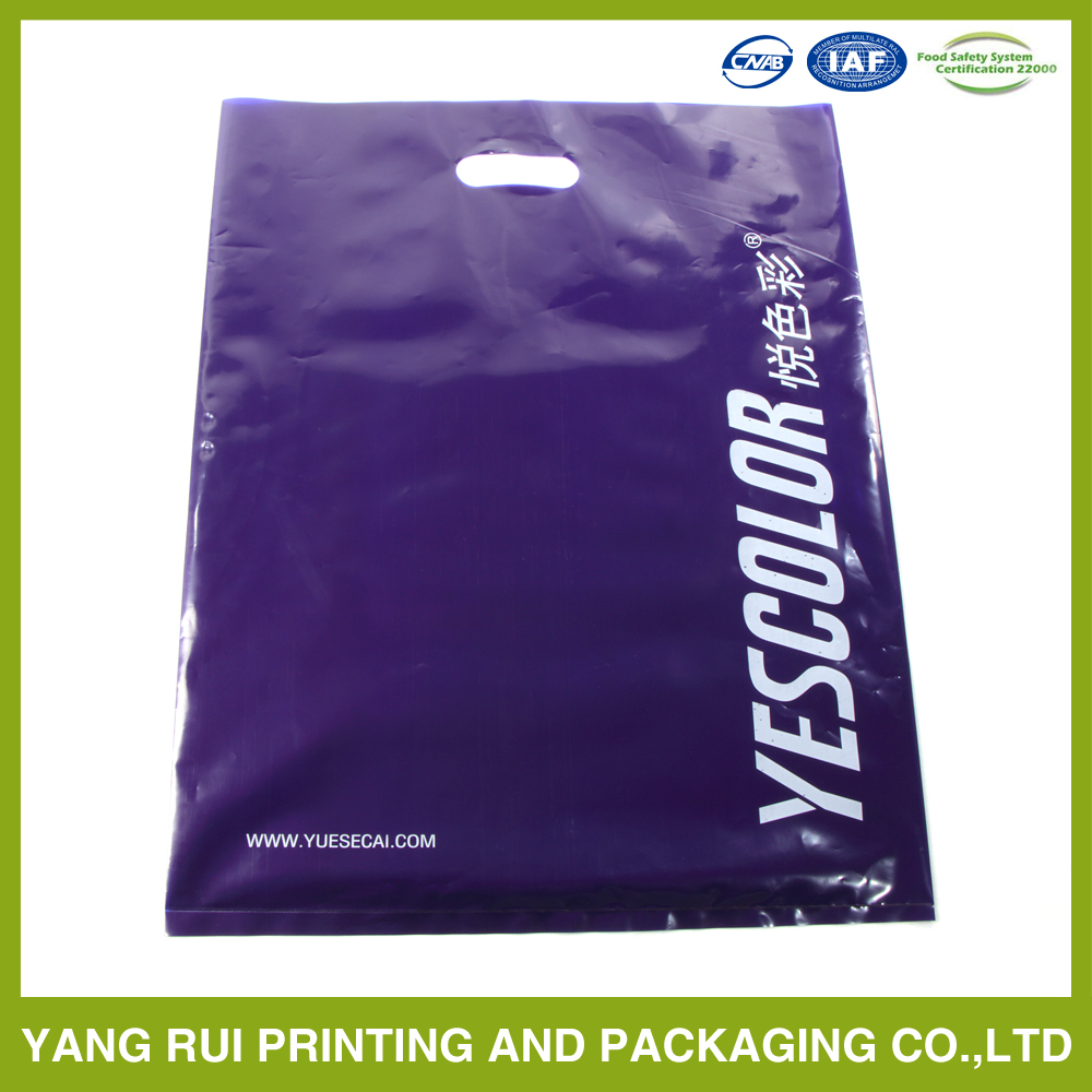 Super quality Hot Factory Price raw material die cut plastic bag