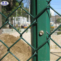 The stadium Fence Chain Link Wire Mesh Fence