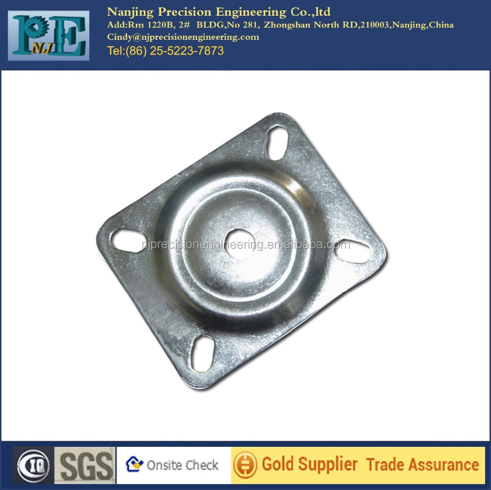 Hot sale high quality chair metal base plates