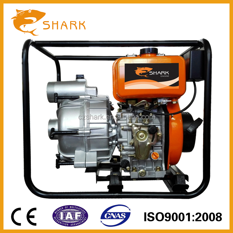3 Inch diesel trash sewage pump for mud water