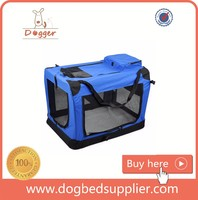 Guardian Gear Collapsible Soft-Sided Crates Blue for dogs