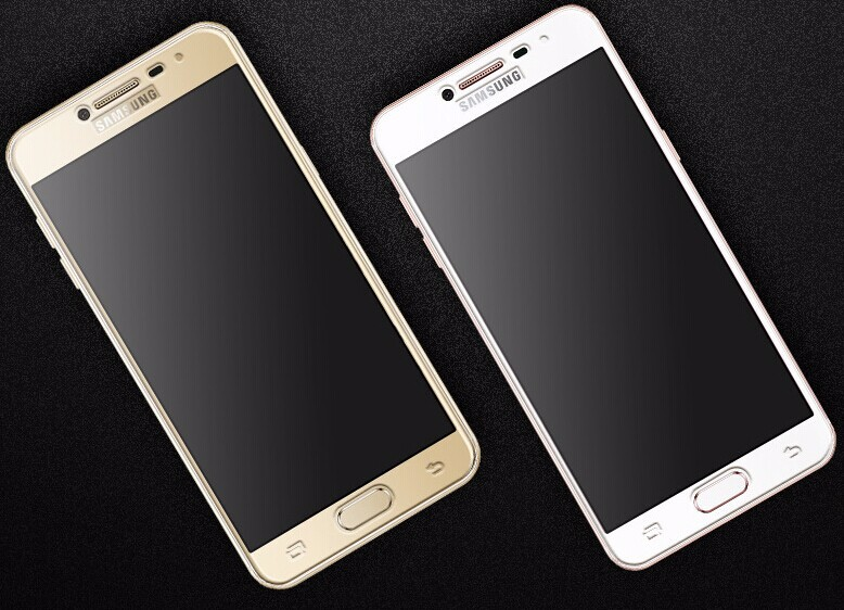 2017 Newly Product 2.5d full screen protector for samsung c5 full coverage