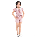 Best sale one piece swing summer young kids pink jumpsuit for girls