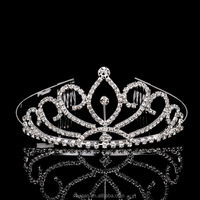2015 factory sale !!! New fashion hair accessor Bridal Crown Rhinestone Combs Hair Accessories party wedding tiara factory sale
