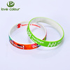 Custom Mixed Colors Rubber Bracelets Silicone Wristbands