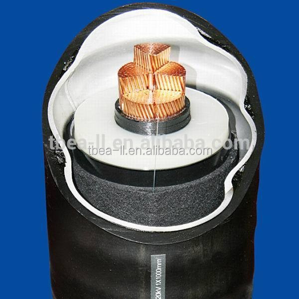 66KV 69kv 110kv 132KV 220KV 275KV 330KV 500KV HV and EHV XLPE power cables extra high voltage cable