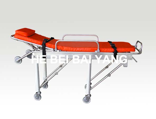 B-23 Aluminum Alloy Stretcher Trolley
