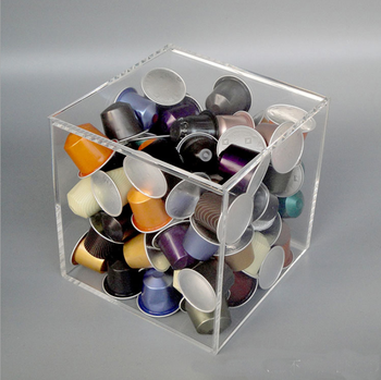 Clear Acrylic Coffee  Capsules  Display Stand