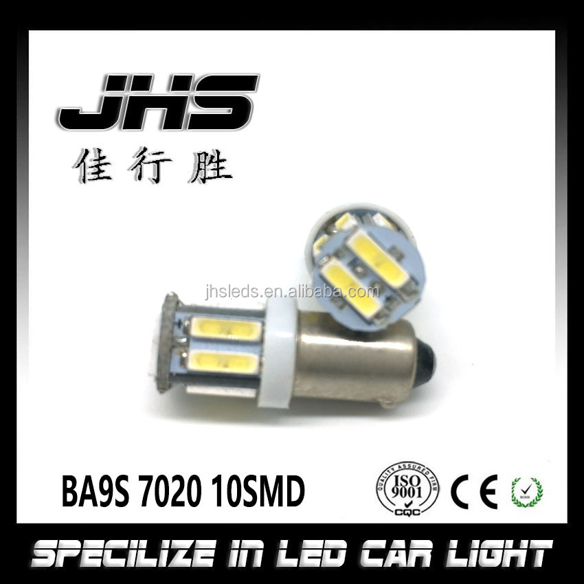 Super White 10SMD 7020 BA9S Interior Dome 12V LED Light Bulbs For Car