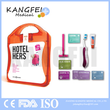 2017 New Item KF403 Personal Care Hotel Hers First Aid kit box