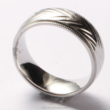 Shenzhen Tizti jewelry factory directly wholesales cobalt chrome rings