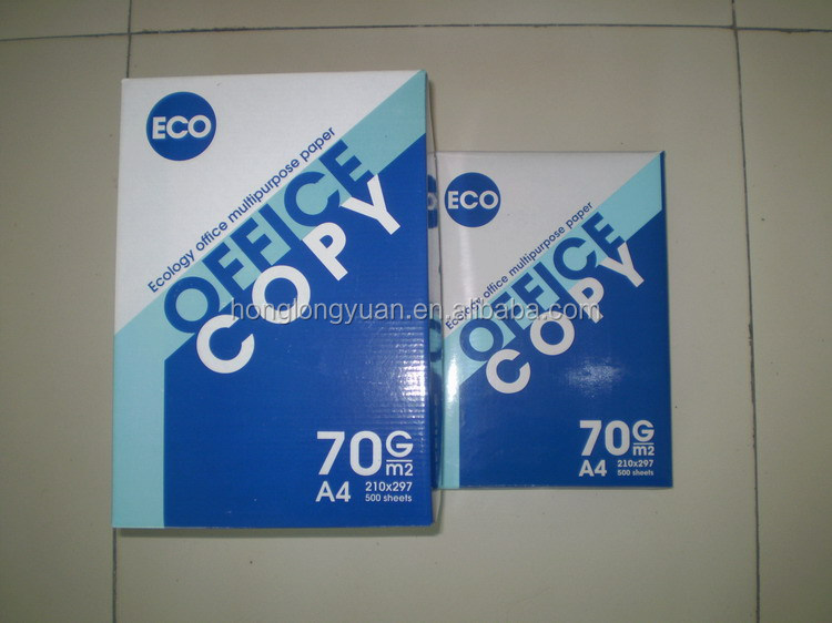office paper type A4 copy paper 70 80gsm