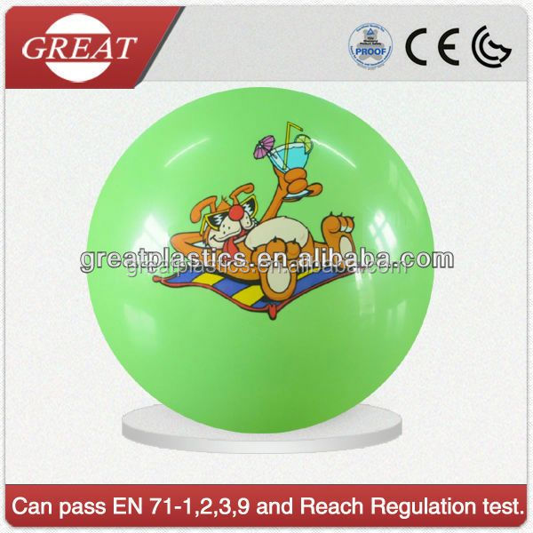 Trade assurance injection molded pvc transparent plastic ball