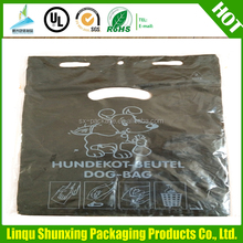 garbage bags wholesale / DOG WASTE BAG ON ROLL / colorful dog poop bag