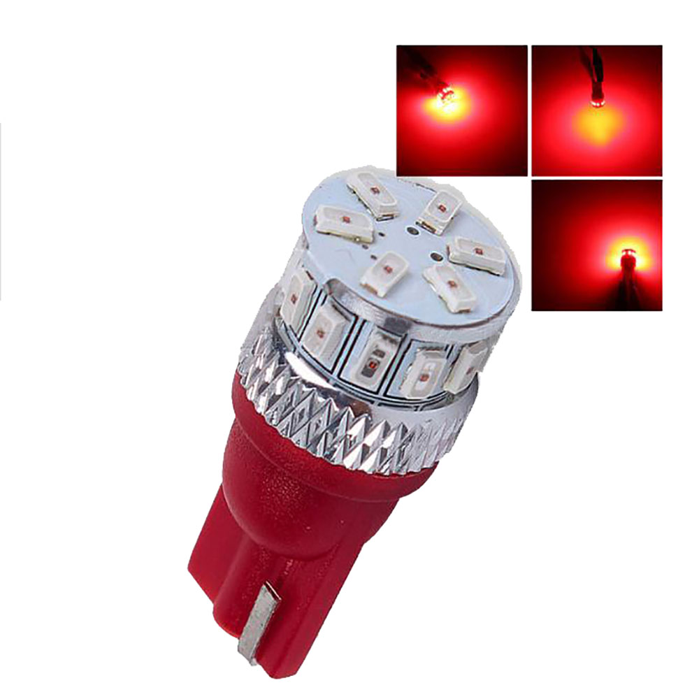 led t10 white wedge amber yellow 194 168 2825 W5W LED super bright SMD3014 t10 led car lights bulbs