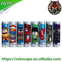 2018 new 18650/20700/26650 Battery vape wraps