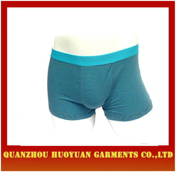 Huoyuan sexy men's Boxer Brief 100% bamboo fiber simple underwear simple model 2015 collection